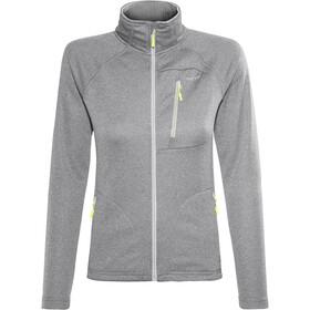 Meru Cannes Fleece Jacket Women Light Grey